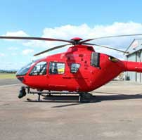 A new Air Ambulance soon to be seen in the skies over West Berkshire