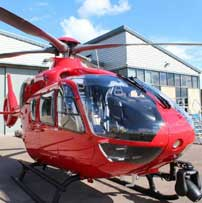 A new Air Ambulance soon to be seen in the skies over Newbury