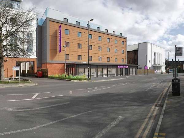 Premier Inns proposing 110 bedroom hotel for Newbury in Park Way next to the Travelodge.