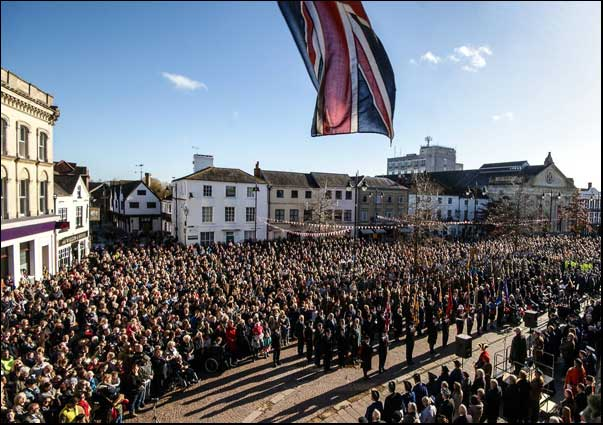 Newbury Remembrance Parade 2018